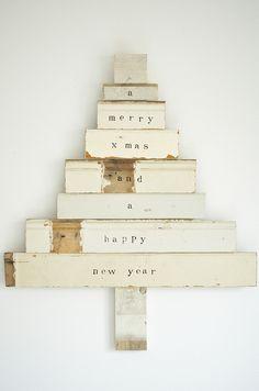 kerstboom / christmastree #scrapwood