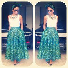 South african TV personality & Style star Bonang Matheba.