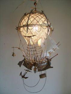 Светильник «Летучий корабль 2»
