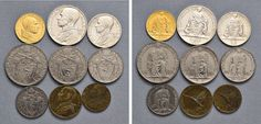 NumisBids: Nomisma Spa Auction 50, Lot 312 : Pio XII (1939-1958) Divisionale 1943 A. V – 100, 10, 5, 2 e una...
