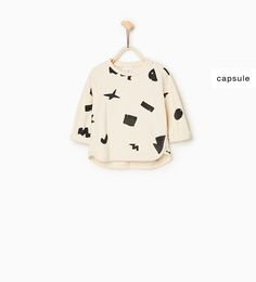 Camisa felpa estampados geométricos