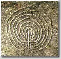 The Rocky Valley labyrinth petroglyphs