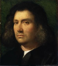 Giorgione, Portrait of a Man ('Terris Portrait'), 1506. Oil on panel. 30.2 x 25.7 cm. The San Diego Museum of Art. Gift of Anne R. and Amy Putnam 1941.100. Photo © The San Diego Museum of Art, www.sdmart.org.