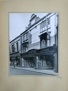 A photo from Peter Mcintyre. This shows McIntyres Shoe Shop in 1948 Durham England, North East England, Bishop Auckland, Shoe Shop, Newcastle, History, Historia