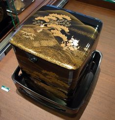 Japan, Lacquered Bento Box