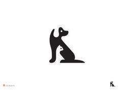 Neg Dog Cat | Combination Cat and Dog Logo | @Tako Mshvelidze AD @George Bokhua | On Dribble