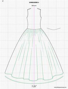 Fashion Design Drawing Adobe Illustrator Flat Fashion Sketch Templates - My Practical Skills Fashion Sketch Template, Fashion Design Template, Fashion Templates, Flat Drawings, Flat Sketches, Dress Sketches, Technical Drawings, Fashion Design Portfolio, Fashion Design Drawings