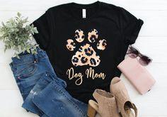 Cute Cat Mama Leopard Shirt, Leopard Paw Cat Mom Gift Shirt, Shirt for Cat Lover, Gift for Cat Owner Gifts For Dog Owners, Dog Mom Gifts, Gifts For Mom, Dog Mom Shirt, Mama Shirt, Cat Shirts, Dad To Be Shirts, Leopard Shirt, Mama Cat