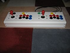 USB Keyboard Controller, Arcade Joystick build, demo with MAME on some little Android devices