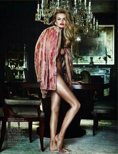 french riviera: edita vilkeviciute and anja rubik by mario testino for vogue paris october 2013 | visual optimism; fashion editorials, shows, campaigns & more!