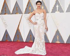 Oscars 2016: Miss World turned Quantico star Priyanka Chopra looked fantastic in Zuhair M...