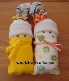miniature diaper babies tutorial