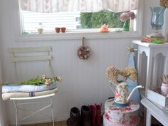 My Shabby Chic Mudroom The One Place That I Allow To Be Cluttered Lt