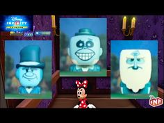 Disney Infinity 3.0 Haunted Mansion Hitchiking Ghosts Sidekicks Unlock - YouTube