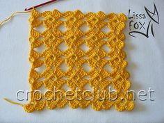 Free crochet pattern for this lovely floral pattern