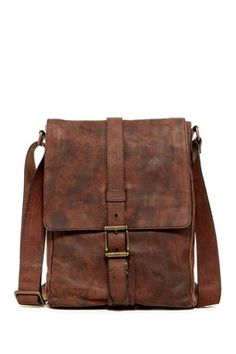 Logan Small Leather Messenger