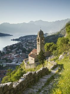 Gospa Od Zdravlja Church, Kotor, Kotor Bay, Montenegro
