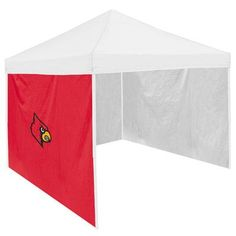 Logo Chairs NCAA 6 Ft. W Canopy Tent Side Panels NCAA Team: Louisville