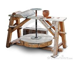 Potters Wheel Royalty Free Stock Images - Image: 15091799