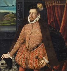 A portrait of Archduke Charles of Austria from 1569. The Archduke Charles was a suitor for the hand of Queen Elizabeth I. More on the courtship: http://www.beingbess.blogspot.com/2013/02/elizabethan-quote-of-day-elizabeth.html