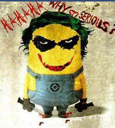 #minions ☺#Coringa #Joker