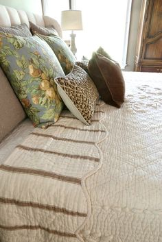 Savvy Southern Style: French Country Master Bedroom Refresh with the French Market quilt by Soft Surroundings and my stash of pillows Girls Bedroom, Country Master Bedroom, French Country Bedrooms, French Country Cottage, French Country Style, French Country Decorating, Bedroom Decor, Southern Style, Country Fall