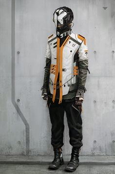 This feels very Destiny. Can't wait to put together my hunter costume.