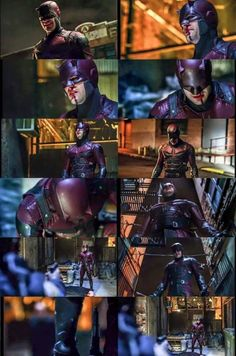 Daredevil's red suit in the original Netflix hit series Daredevil 2015    http://bats-beats-supes.tumblr.com/post/117767951220/daredevils-red-suit-in-the-original-netflix-hit