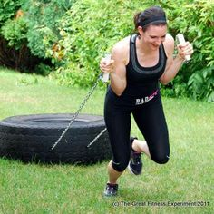 22 Men's Exercise Women Should Do (ex. Tire Pull)