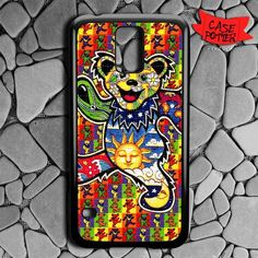 The Grateful Dead Dancing Bear Samsung Galaxy S5 Black Case