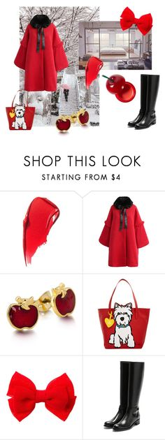 """""""winter in tokyo"""" by polyvore123-iii ❤ liked on Polyvore featuring Shibuya, Chicwish, Disney, Marc Tetro, Rupert Sanderson and TONYMOLY"""