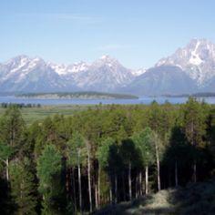 Grand Tetons; Jackson, Wyoming