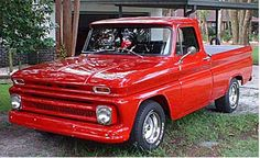 1966 Chevy Truck..mine was blue, was raised up, had apache wings, and air horns..My 7th vehicle