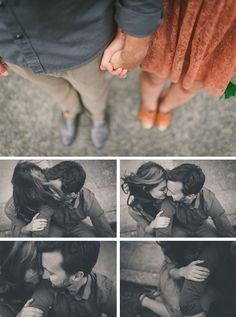 romantic and artful engagement session #Seattle #Ballard // photography by http://www.kateignatowski.com/blog/