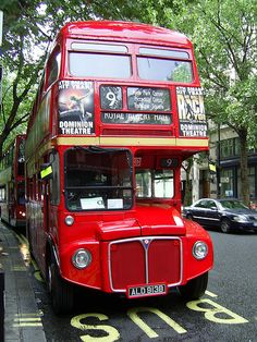 """Although 2005 was officially the last year of the famous Routemaster buses on the streets of London, route 9 is one of two """"heritage"""" routes to have been retained. London Bus, Old London, London Street, London City, Road Transport, London Transport, Volkswagen Bus, Volkswagen Beetles, Vw Camper"""