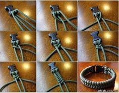 Плетеная ручка для сумки или браслет. Обсуждение на LiveInternet - Российский…