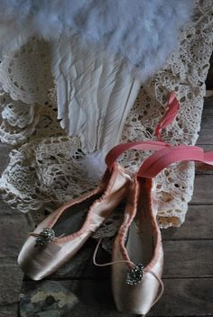Ballet slippers.