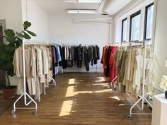 This Era Archive's vintage rental New York Popup Showroom - May 2019. By-appointment only for fashion designers.