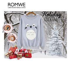 """Romwe"" by hadibojic ❤ liked on Polyvore featuring Martha Stewart"