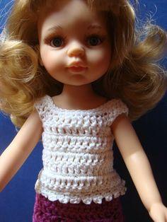 Tuto Caraco pour poupées Paola Reina et Chérie de Corolle