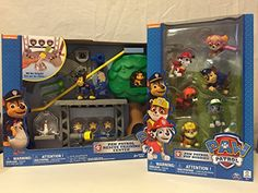 Paw Patrol Rescue Training Center Playset and Exclusive Paw Patrol Pup Buddies Figures. Paw Patrol Gifts, Paw Patrol Rescue, Christmas 2016, Christmas Gifts, Bookmark Ideas, Training Center, Letters And Numbers, Giraffe, Party Ideas
