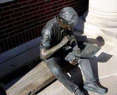 Johnson II, John Seward (1930-...) Out to Lunch Sculpture at Coe College in Cedar Rapids, Iowa