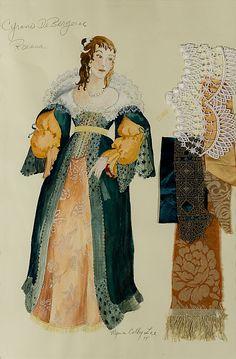 Theme 1 The Art of Costume Design Historical Costume, Historical Clothing, Costume Design Sketch, 17th Century Fashion, Presentation Styles, Fantasy Princess, Unique Costumes, Theatre Costumes, Fantasy Dress