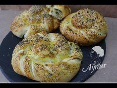 Börek mit Porree und Schafskäse Füllung I Vegetarisch I Pirasali katmer ...