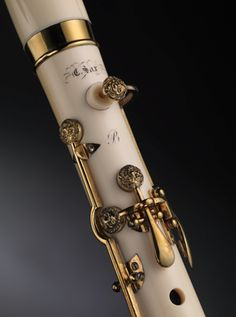 Former Curatorial Fellow Heike Fricke introduces readers to a rare ivory clarinet currently featured in the exhibition Celebrating Sax: Instruments and Innovation. Clarinet Sheet Music, Bass Clarinet, Band Jokes, Band Nerd, Love Band, Music Humor, Classical Music, Music Stuff, Music Bands