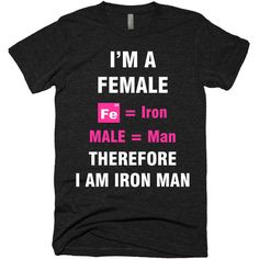 I'm Female So I am Iron Man,Fitness tank tops,Motivational... ($20) ❤ liked on Polyvore