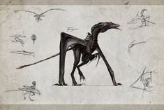 Indominus Strains (The Isle) by Kelskora on DeviantArt Alien Creatures, Prehistoric Creatures, Fantasy Creatures, Mythical Creatures, Prehistoric Wildlife, Alien Concept Art, Creature Concept Art, Monster Design, Monster Art