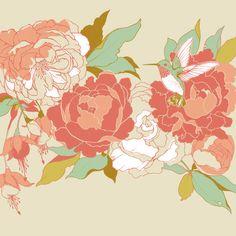 garden party Art Print by Teagan White