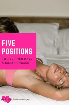 Most women need more than your typical penis-in-vagina sex to get off. Check out these positions and add a few sex toys in to get her off.  #sextoys #sexualpositions #orgasms #sexualpleasure #jackandjilladult
