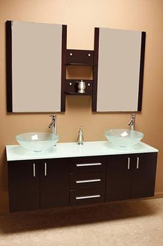 Bathroom Vanity Vendors kokols modern double 60-inch free standing bathroom vanity sink